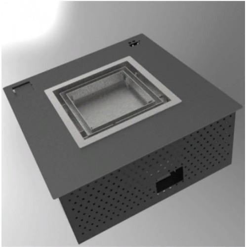 Автоматический камин, квадратная горелка  AS 50